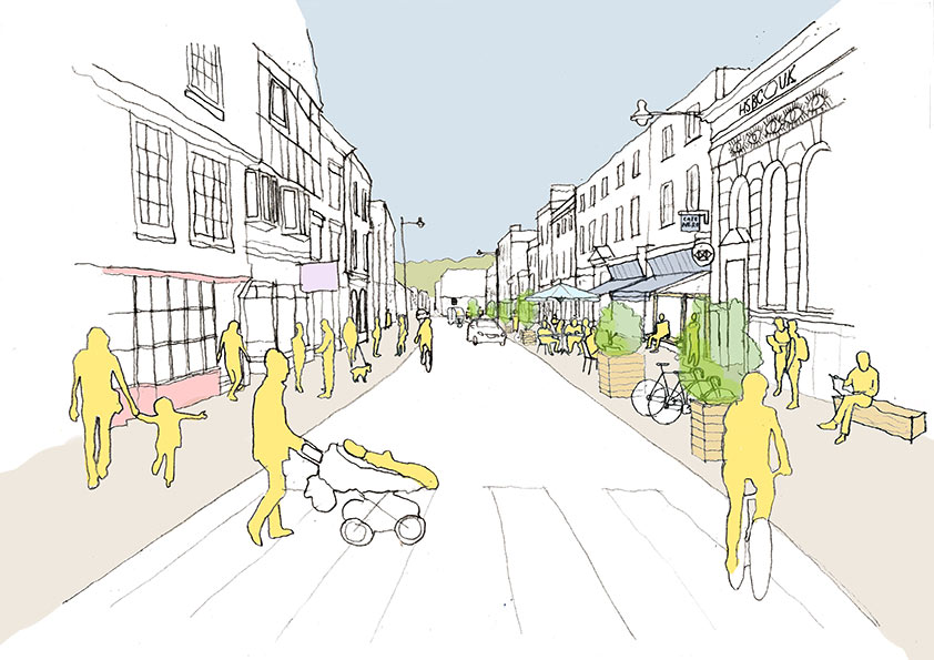 Low Traffic Lewes project proposal